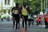 Francis Bowen and Henry Chirchir at the 2014 TUI Marathon Hannover (UI Marathon Hannover / Thomas Wenning)
