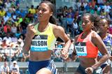 Ajee Wilson, winner of the 800m at the IAAF Diamond League meeting in New York (Victah Sailer)