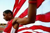 200m winner Trentavis Friday at the IAAF World Junior Championships, Oregon 2014 (Getty Images)