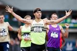 Nick Symmonds winning at the 2015 US Championships (Getty Images)