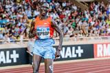 Asbel Kiprop goes to fifth on the 1500m world all-time list at the 2013 Monaco Diamond League (Philippe Fitte)