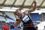 Valerie Adams wins the shot put in Rome (Giancarlo Colombo)