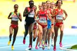 Kim Conley in the womens 5000m at the IAAF World Championships Moscow 2013 (Getty Images)