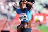 Caterine Ibarguen, winner of the triple jump at the IAAF Diamond League meeting in Oslo (Mark Shearman)