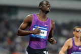 Kirani James wins the 400m at the IAAF Diamond League meeting in Shanghai (Errol Anderson)