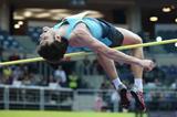 Ivan Ukhov jumping at the 2014 Prague indoor meeting (Praha Indoor 2014 / Pavel Lebeda)