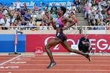 Amantle Montsho sets a PB of 49.33 at the 2013 Monaco Diamond League (Philippe Fitte)