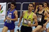 Spanish Champs 1500m: from left to right: Diego Ruiz, Arturo Casado and Juan Carlos Higuero. (Julio Fontán)