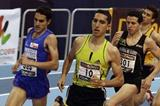 Spanish Champs 1500m: from left to right: Diego Ruiz, Arturo Casado and Juan Carlos Higuero. (Julio Fontán)