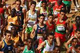 The junior men's race at the IAAF World Cross Country Championships (Getty Images)