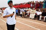 On his 40th birthday, Hicham El Guerrouj speaks at the Athletics for a Better World event in Ait Iktel (Getty Images)