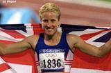 Women's 400m Katherine Merry (© Allsport)