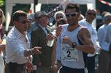 Francisco Javier Fernandez winner in Sesto San Giovanni with coach Robert Korzeniowski (Lorenzo Sampaolo)