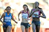 Eunice Sum winning the 800m at the 2014 IAAF Diamond League in Oslo (Mark Shearman)
