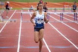 Sydney McLaughlin wins the US youth 400m hurdles title (Travis Miller)