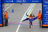 Kenya's Priscah Jeptoo, winner of the 2013 New York City Marathon (Getty Images)