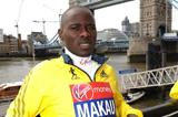 Patrick Makau ahead of the 2013 Virgin London Marathon  (Getty Images)