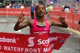 2:28:30 course record for Amane Gobena at the 2009 Toronto Marathon (organisers)
