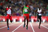 Kirani James in the 400m at the Commonwealth Games (Getty Images)