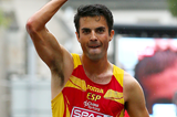 Spain's Miguel Angel Lopez on his way to winning the 20km race walk (Getty Images)