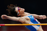 Spain's Ruth Beitia in action in the high jump (Getty Images)