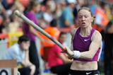 Svetlana Feofanova takes her first Samsung Diamond League victory in Gateshead (Mark Shearman)