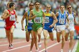 Hicham El Guerrouj controls his 1500m heats (Getty Images)