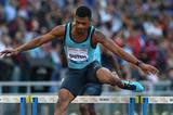 Johnny Dutch at the 2013 IAAF Diamond League in Rome (Giancarlo Colombo)