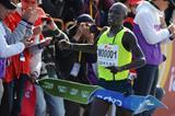 Moses Mosop wins the Xiamen Marathon (Jiang Kehong)