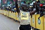 Moses Kipsiro wins 10km in Kampala (Norman Katende)