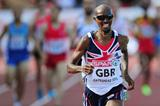 Mo Farah in action in the 5000m at the 2013 European Team Championships (Getty Images)