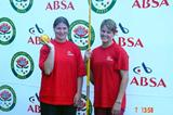 Maranelle du Toit (left) and Sunette Viljoen (right ) of South Africa (Mark Ouma)
