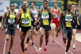 Mbulaeni Mulaudzi (RSA) comes with a late run in Monaco (AFP / Getty Images)
