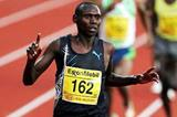 Issac Songok of Kenya completes a comprehensive win over Bekele - Oslo (Getty Images)