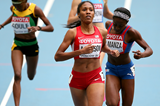 Ajee Wilson in action at the IAAF World Championships in Moscow (Getty Images)