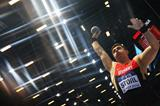 David Storl in the shot put final at the 2014 IAAF World Indoor Championships in Sopot (Getty Images)