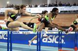 Alina Talay sets a PB of 7.94 in the 60m Hurdles (Jean-Pierre Durand)