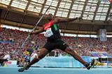 Kenya's Julius Yego in action in the Javelin at the 2013 IAAF World Championships in Moscow (Getty Images)