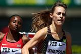 US middle-distance runner Jenny Simpson (Getty Images)