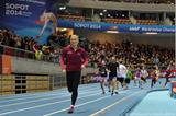 Karolina Tyminska.winning the VIP race at the opening of the ERGO Arena in Sopot (Organisers)
