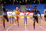 Dawn Harper Nelson wins the 100m hurdles at the IAAF Continental Cup, Marrakech 2014 (Getty Images)