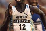 Sammy Kipketer (KEN) sprints to victory in Brussels (Getty Images)