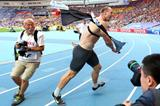 Robert Harting in the mens Discus Throw at the IAAF World Championships 2013 (Getty Images)