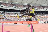 Brimin Kipruto at the 2013 IAAF Diamond League in London (Victah Sailer)