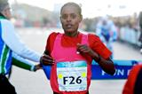 Meseret Hailu takes a surprise victory (Orange Pictures)