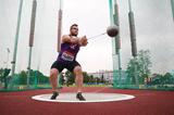 Pawel Fajdek on his way to winning the hammer at the Golden Spike meeting in Ostrava (Organisers / sport-pics.cz)
