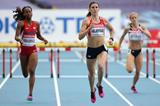 Zuzana Hejnova in the womens 400m Hurdles at the IAAF World Championships 2013 (Getty Images)