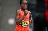 Ethiopian distance runner Tigist Tufa (Getty Images)