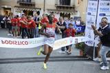 Tariku Bekele winning in Castelbuono (Organisers)