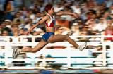 Tatyana Lebedeva of Russia takes bronze in the Triple Jump final (Getty Images)